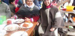 Ñaña Matilde y tia Claudia wetripantu 2015 Colegio Misión San Juan