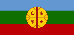 Bandera nacional mapuche