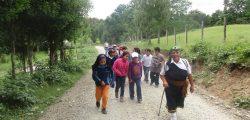 Caminata kimtu ka pichikeche en Loma la Pidra 2014