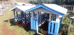 Casa del sueño eterno 10 diseño techo reja