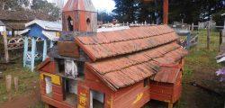 Casa del sueño eterno 3 réplica de Iglesia Antigua Misión San Juán