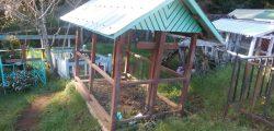 Casa del sueño eterno 8 modelo techo y reja corral