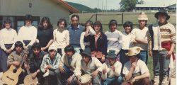 Grupo folclórico Antulafken Puaucho 1990