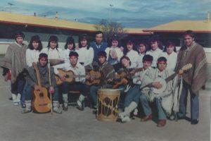 Grupo folclórico Antulafken de Puaucho 1990 - 19991