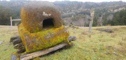 Horno de piedra en Panguimapu