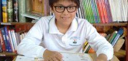 Vicente Antriao 4° básico 2014 CMS ganador Fucoa cuento El Eclipse